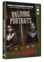 Unliving Portraits DVD Halloween Virtual Window Projection Prop by Atmos... - $34.90