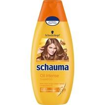 Schwarzkopf Schauma Oil Intense Shampoo XL 400ml-Made in Germany - $10.88
