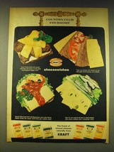 1964 Kraft Cheese Ad - Country-Club Foursome - $14.99