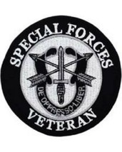 US Army Special Forces Veteran Patch NEW!!! - $11.87