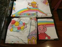 Pink Panther & Sons Twin Sheet Set Rainbow Panthers 1984 Nice! - $114.95