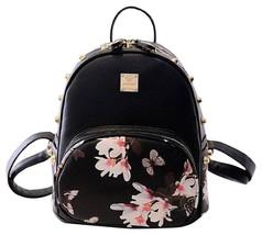 NEW Mini Waterproof Backpack Casual Lightweight Fashion Daypack Black fo... - $24.95