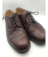 Shipton & Heneage Brown Leather Shoes 9.5 Made In England - $94.05