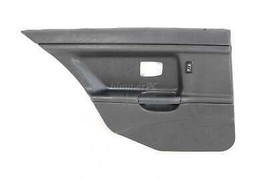 BMW E36 3-Series Black Left Rear Door Panel Trim Card 4dr Sedan 1992-1998 OEM - $74.25