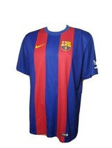 Nike FCB Jersey 2016 Authentic Football Futbol Red Blue FCB FC Barcelona... - $58.70