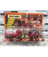 1997 Matchbox CIRCUS 2 Trucks Animals Set Action Figures 34696 ULTRA RAR... - $142.51