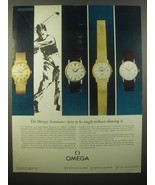 1965 Omega Seamaster Watches Ad - How to Be Tough - $14.99
