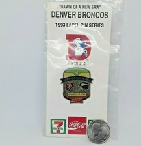 Classic 1993 NFL Football Lapel Hat Pin - Denver Broncos vs Minnesota Vi... - $11.87