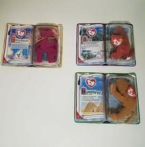 TY Beanies Lot McDonalds Happy Meals Toys Millennium, Rex, Humphrey - $14.49