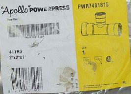 Apollo Powerpress Carbon Steel Press Tee Two Inch PWR7481815 image 3