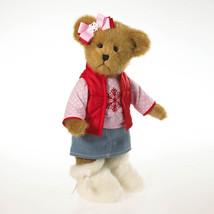 "Boyds Bear ""Suzie B Snowdays"" 12"" Plush Bear- #4032726 - NWT- 2013 - $44.99"