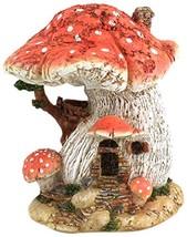 Top Collection Miniature Fairy Garden and Terrarium Red Mushroom Fairy H... - $19.15