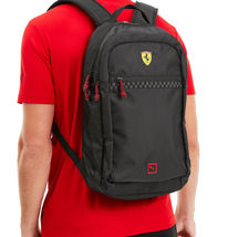 Puma Scuderia Ferrari Fanwear Bag Laptop Sleeve Sports Car Zipper Backpack image 6