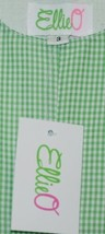 Ellie O Gingham Full Lined Cotton Polyester Blend Longall Size 3 Color Green image 2