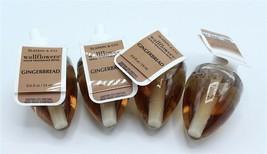 Bath & Body Works Gingerbread Wallflower Plug Refill Bulbs, Lot of 4 - $31.99