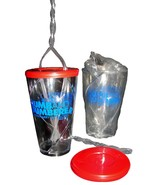 2 NEW 2003 DUMB AND DUMBERER Promo Sectioned Plastic GLASSES w/ Double S... - $11.99