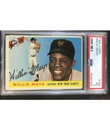 1955 Topps #194 Willie Mays Giants PSA 3 - VG - $173.25