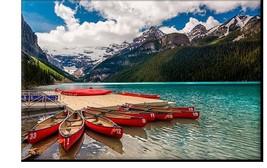 Lake Louise Photo Canvas Print Canada National Park Nature Landscapes Wall Art H - $49.00