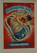 Creamed Keith Vintage Garbage Pail Kids #97B Trading Card 1986 - $2.96