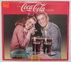 Coca-Cola 2005 Calendar - Nip Free Shipping - $15.35