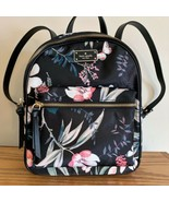 Kate Spade Small Bradley Backpack ~ Botanical Floral Print Nylon Wilson ... - $138.95