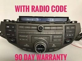 """""""HO330"""" 09 Honda Accord Nav Sat Radio w/Heat Control 39101-TA0-A820-M1, 3TA0 - $67.57"""