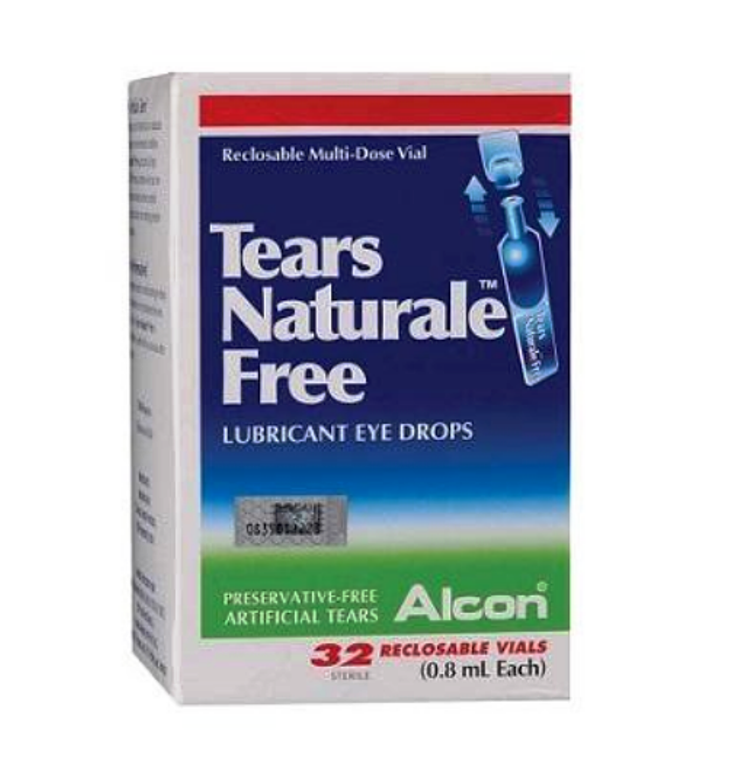 10 X Alcon Tears Naturale Free Lubricant Eye Drops (32's) Free Shipping