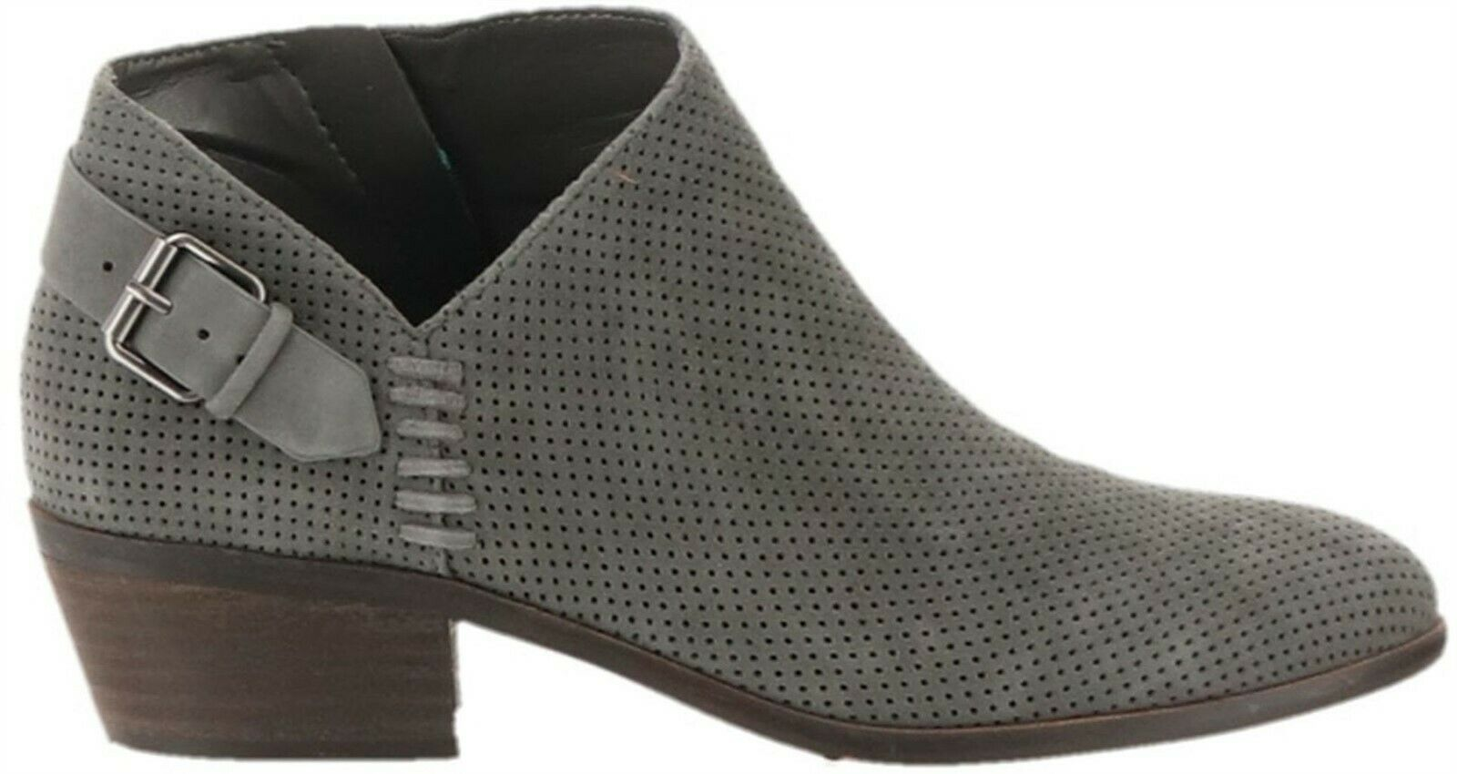 Primary image for Vince Camuto Suede Booties Buckle Parveen Greystone 5.5M NEW A311049