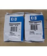 Genuine HP 56 Black & HP 57 Color Ink Cartridge Factory Sealed - $19.59