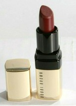 New Bobbi Brown Luxe Lip Color Mini Lipstick Gold Tube - Crimson - $12.86