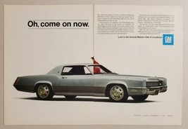 1967 Print Ad Cadillac Fleetwood Eldorado 2-Door Luxury Cars  - $12.85