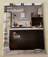 IKEA Kitchens Catalog 2021 Book Magazine Printed In the USA  remodel ideas - $7.69