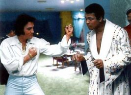 Elvis Presley - Elvis and Muhammad Ali in Ali's suite in Las Vegas - $7.18