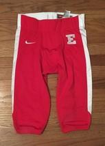 New Nike Men's Medium Custom Defender Red and White Football Pant - $15.91