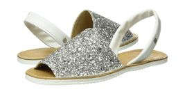 Womens 5 UK Sandals Abarca 5 6 Silver Cuple 7Havqwx