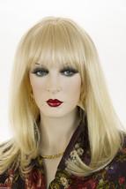 Light Pale Blonde Blonde Medium Premium Remy Human Hair  Monofilament Strai Wigs - $361.34