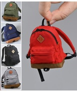 1/6 Scale Leisure Backpack Pig Nose Bag School Bag Model Fit 12in. Figur... - £19.47 GBP