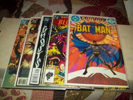 BATMAN ANNUAL #8, 17, 22, 23, & BATMAN PLUS ARSENAL #1 - $14.00