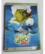 How the Grinch Stole Christmas (DVD, 2001, Full Frame) Jim Carrey Dr Seu... - $5.86