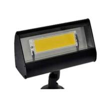Focus LFL-01-HELEDP812VBLT Outdoor Led Flood Light with No Shades, Black