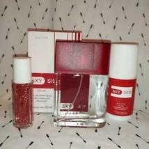 3PC Set Avon Sxy Side Eau De Toilette Spray 50ml -DEODORANT & Perfume Rollette - $22.90