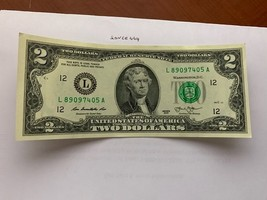 United States Jefferson $2 crispy banknote 2013 #4 - $7.95
