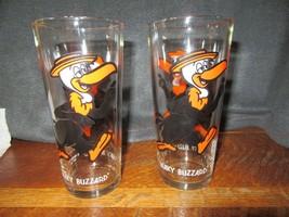"2 1973 Warner Bros. Pepsi Collector Series ""BEAKY BUZZARD"" Glasses VNC - $15.00"
