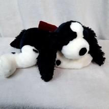 Russ Berrie Huntly Springer Spaniel puppy Dog Toy Plush Black White red ... - $55.77