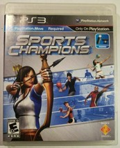 Sports Champions (Sony PlayStation 3 PS3, 2010) PlayStaytion Move Required - $7.51