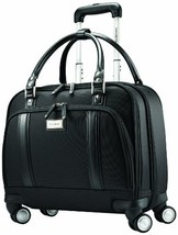 Samsonite Luggage Women's Spinner Mobile Office, Black, One Size - $163.47