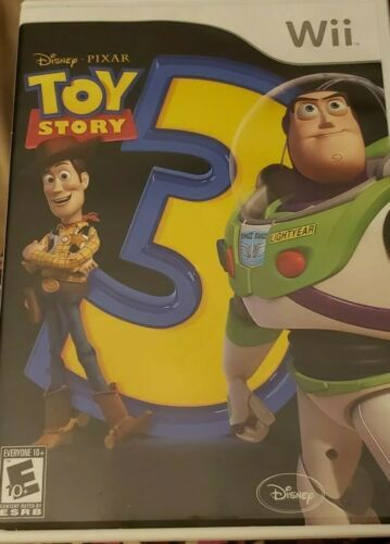 DISNEY PIXAR, TOY STORY 3, Nintendo Wii, 2010, UNLEASH YOUR IMAGINATION