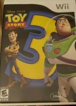 Disney Pixar, Toy Story 3, Nintendo Wii, 2010, Unleash Your Imagination - $16.00