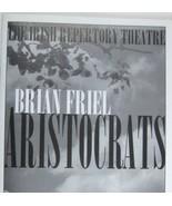 Aristocrats Show Program Irish Repertory Theatre Brian Friel John Keatin... - $59.35