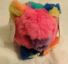 Cosmo the Rainbow Teddy Bear Puffkins - St. Jude Children's Research Hos... - $11.87